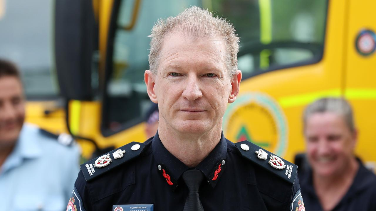 Queensland Fire and Emergency Services commissioner Greg Leach reminded the community to be proactive, particularly following the two back-to-back horror fire seasons. Photo: Liam Kidston.