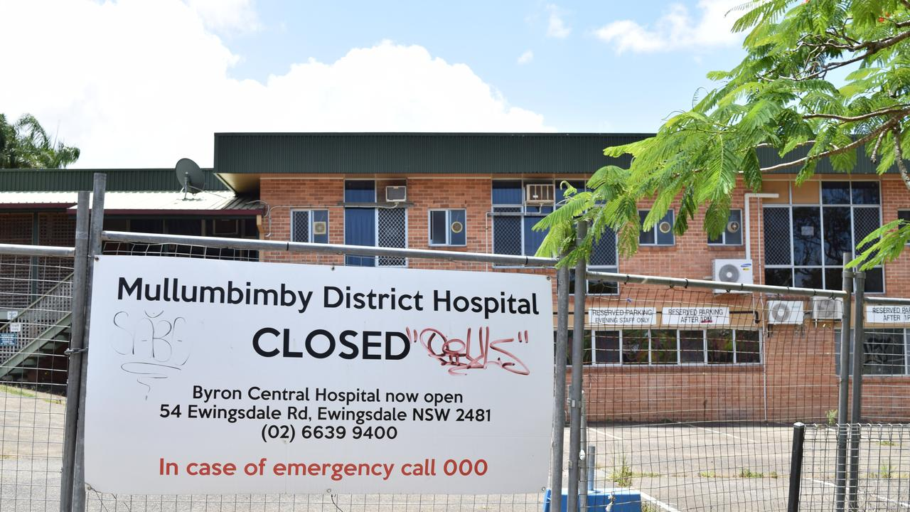 More asbestos has been found at the site formerly home to Mullumbimby District Hospital.