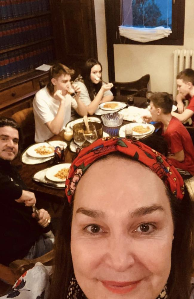 Kate Langbroek has been open about her experience in quarantine in Italy.