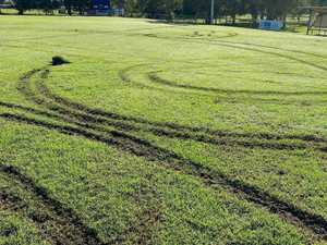 Club at wit's end as 'little buggers' trash footy fields