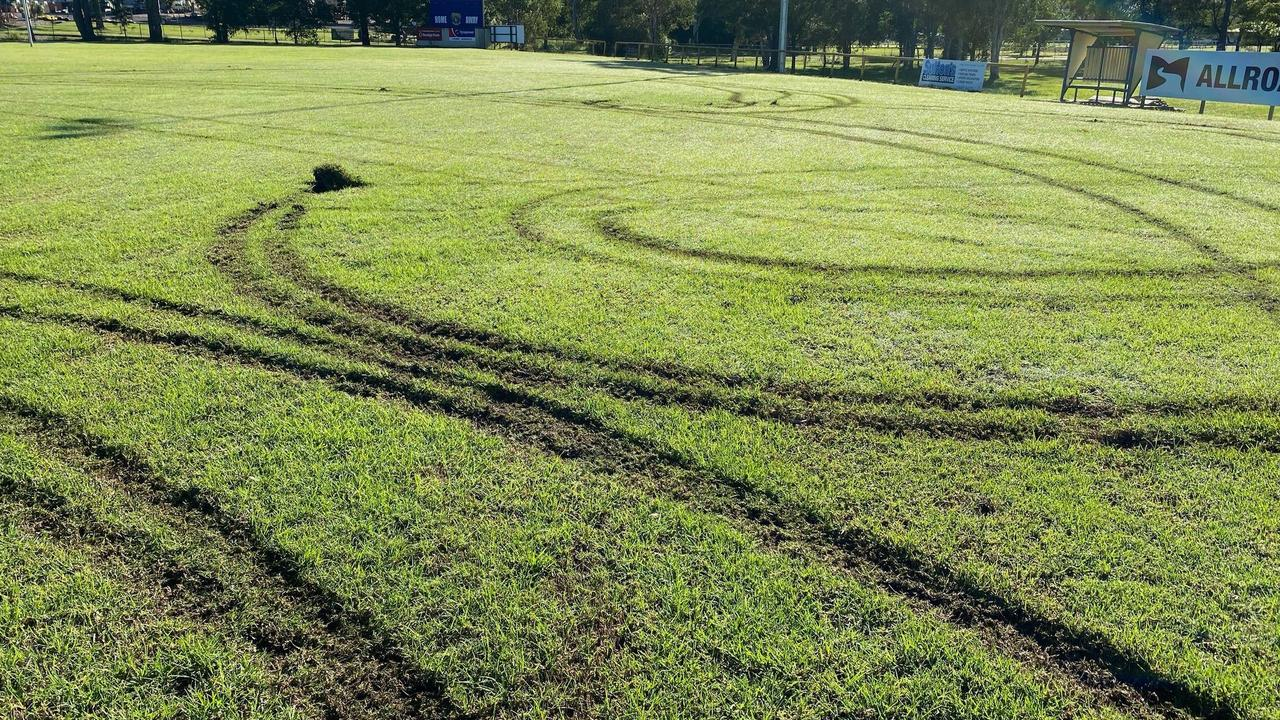 Noosa Pirates Rugby League Club is facing a huge clean-up bill after hoons trashed the junior football fields overnight.