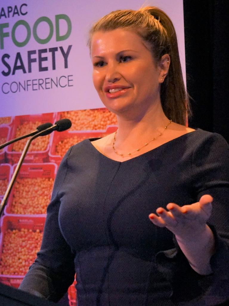 Maidie Wood, food safety expert at SAI Global