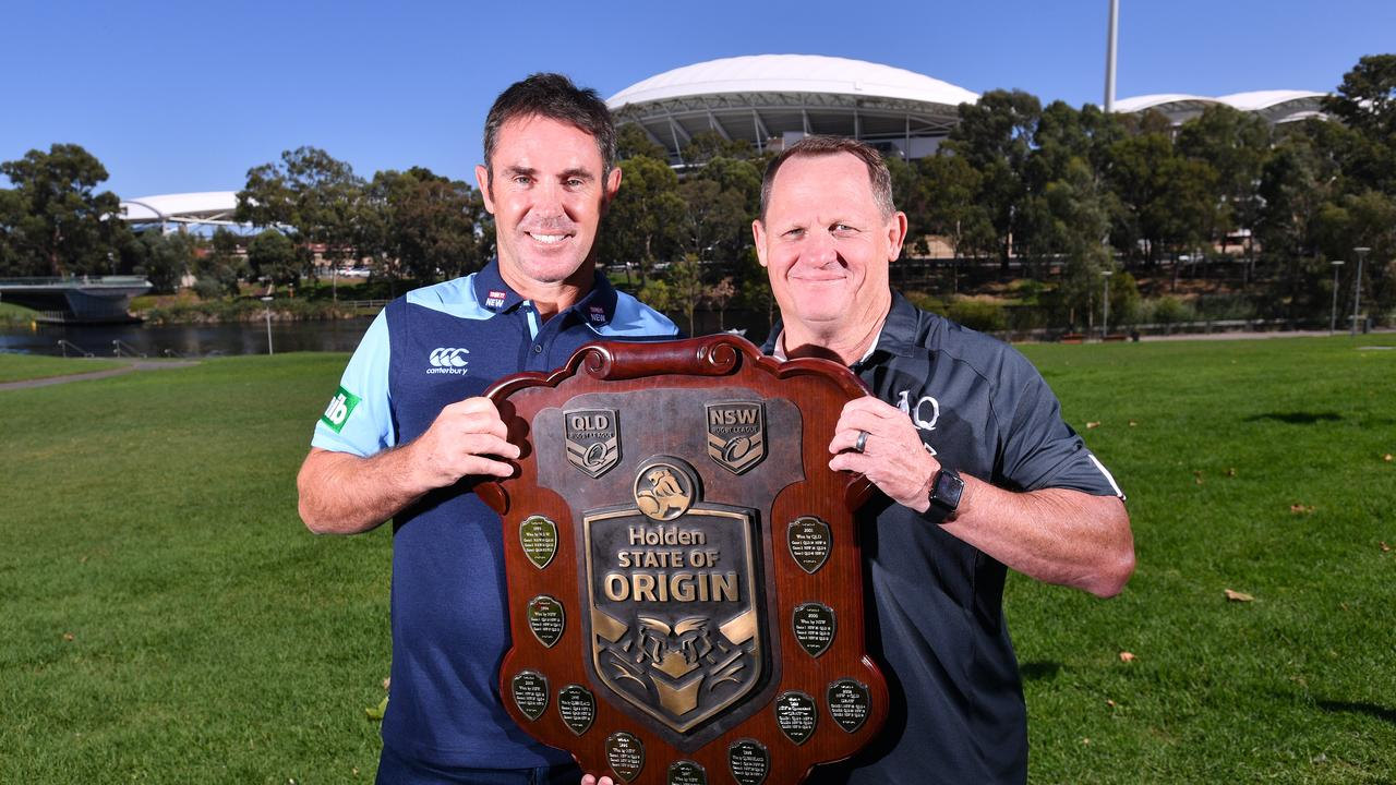 HOLDING HOPE: Queensland State of Origin coach Kevin Walters and his NSW counterpart Brad Fittler can only keep communicating with their players while waiting for a decision on this year's series. Picture: AAP Image/David Mariuz