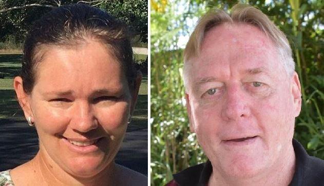 Gympie Regional Council candidate hopefuls Jess Milne and Mark McDonald