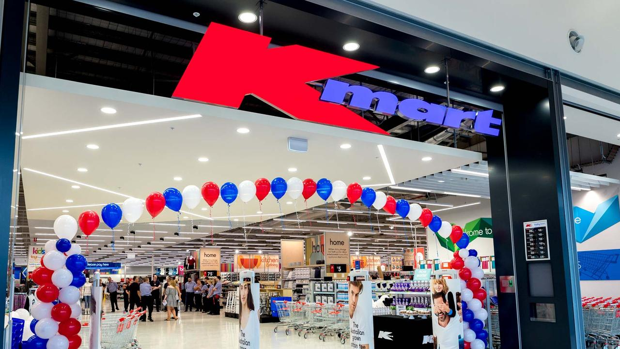 Kmart stores in NSW, Queensland and Victoria have been converted as a result of the pandemic. Picture: Lindsay Moller Productions