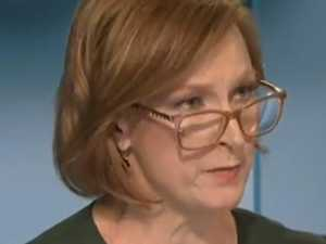 'Why can't I sit in a park?', Leigh Sales asks Morrison