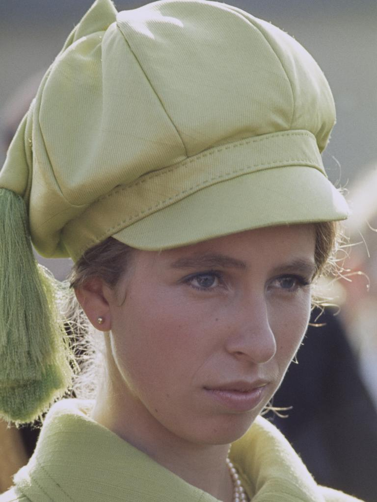 Princess Anne pictured in 1971. Picture: Getty Images
