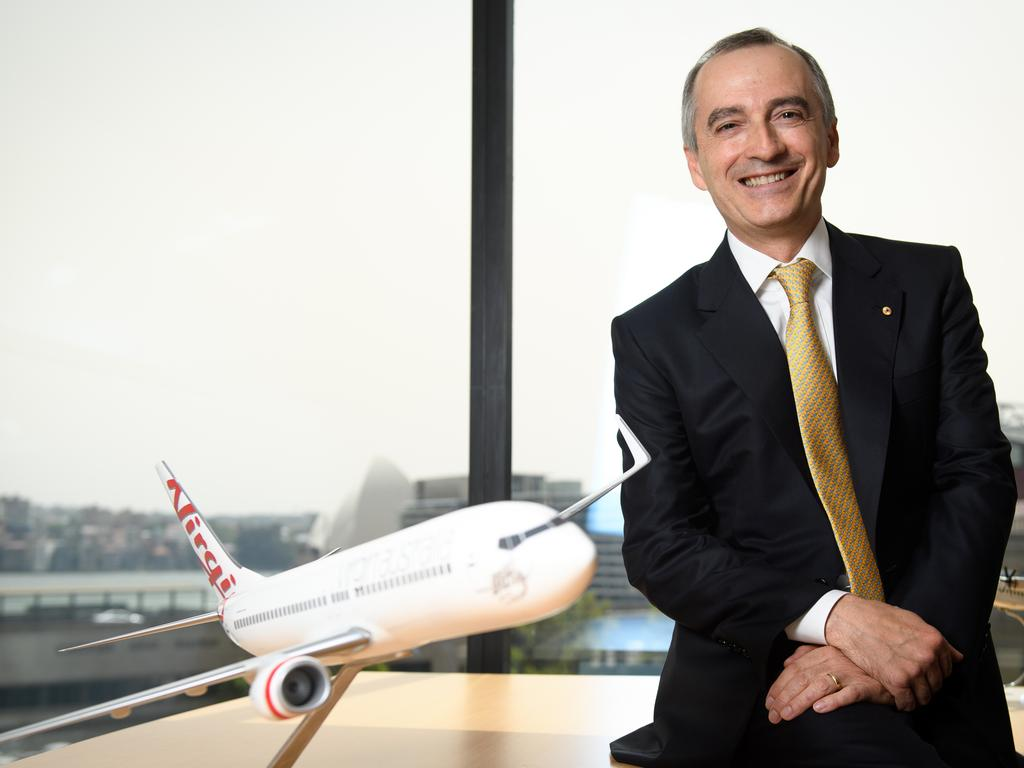Former Virgin Australia Group CEO and Managing Director John Borghetti. (AAP Image/Dan Himbrechts)