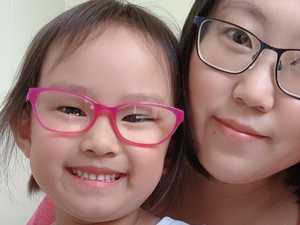 Young girl's gift to 'superhero' hospital staff