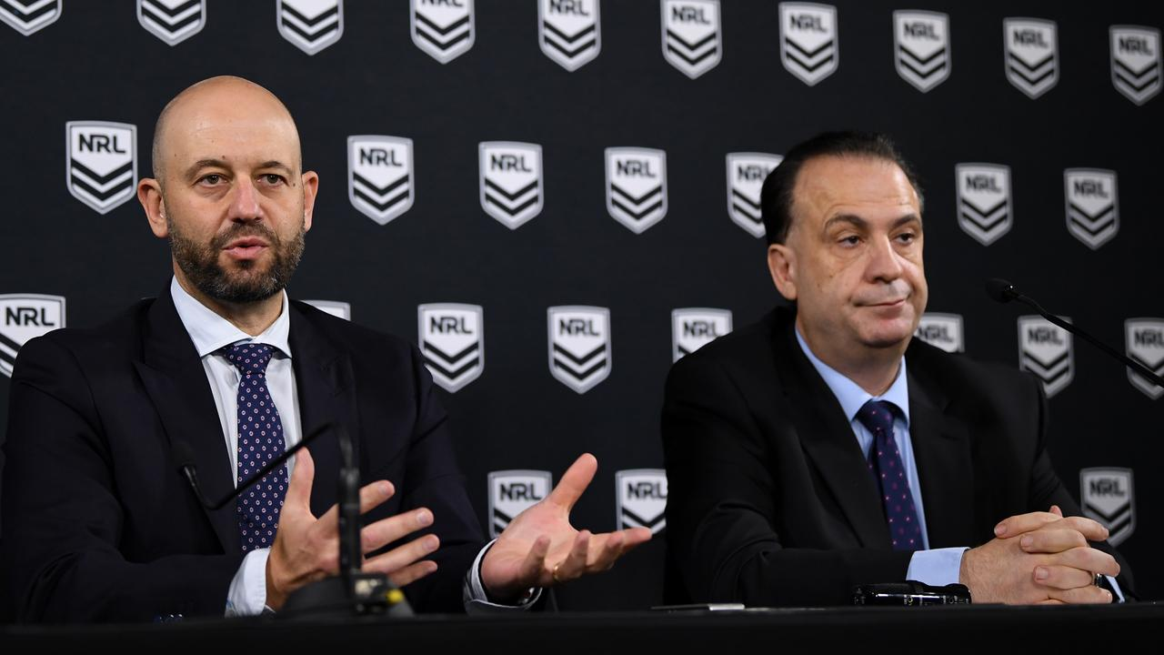 The NRL is committed to ploughing ahead with it's plan to return in May but there are serious concerns in clubland that the league will fail to reach its goal.