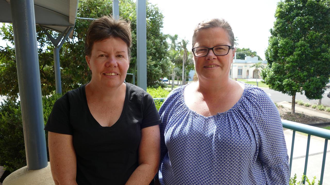 Lismore woman Sharon Hammond and Local Area Coordinator, Trudy Collins.