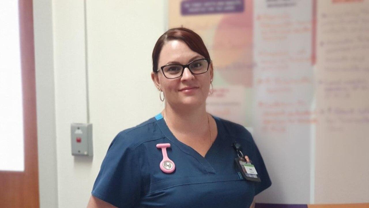 LOCAL NURSE: Meet Amy Staples, Clinical Nurse at the Kingaroy Hospital. Photo: Darling Downs Health