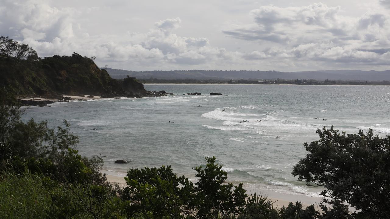 Wategos beach in Byron Bay.
