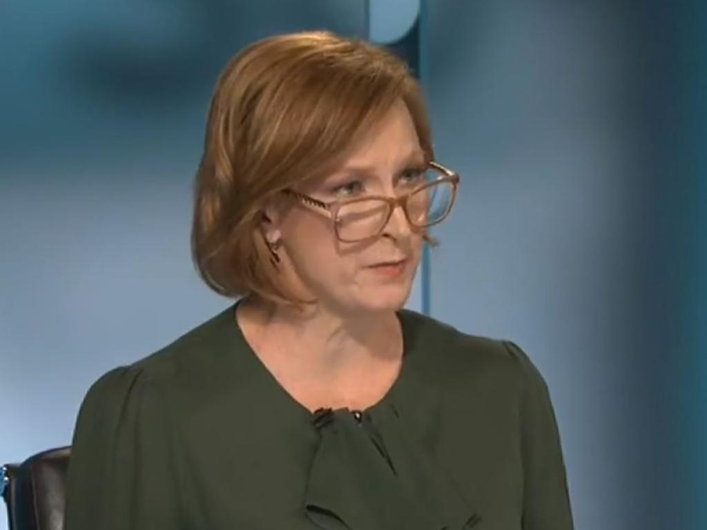 "Leigh Sales grilled Scott Morrison about ""inconsistency"" of coronavirus lockdown laws in Australia."