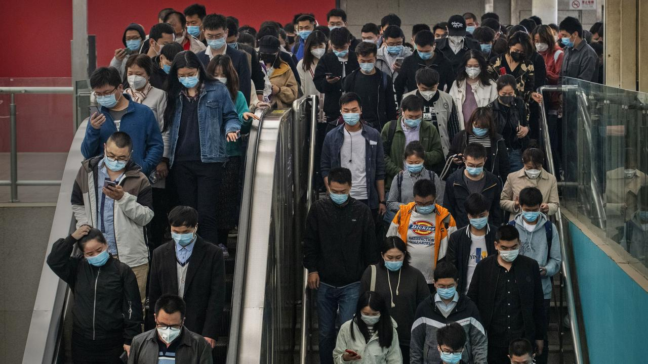 The Chinese Government may have known about the outbreak for six days before warning citizens. Picture: Getty Images.