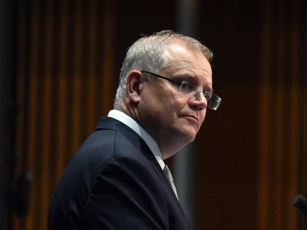 Prime Minister Scott Morrison faced tough questions on Thursday but stands firm on his government's handling of the crisis. Picture: Mick Tsikas/AAP