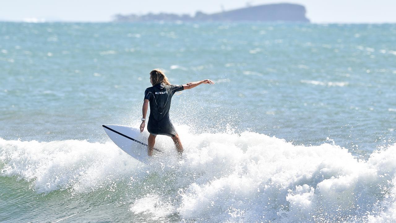 NICE ONE: Wave of the day at Alexandra Headland. Photo Patrick Woods / Sunshine Coast Daily.