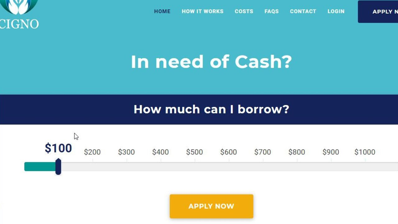 ASIC has clamped down on a payday lending model used by Cigno Pty Ltd