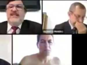 Judge caught topless in Zoom meeting