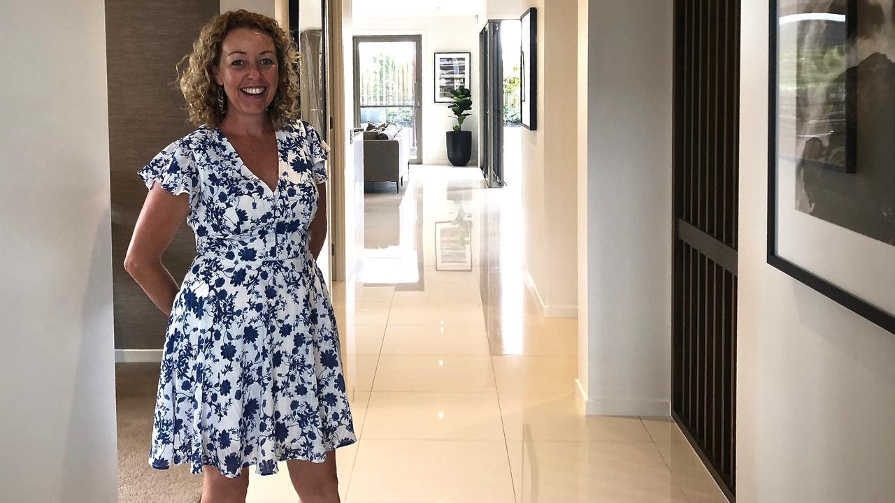 Kingscliff resident Simone Tardent has bought two home sites at Kingscoast - one to live in and one as an investment. Photo: SUPPLIED.