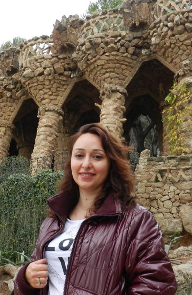 Mozhdeh Golabi. Picture: Facebook