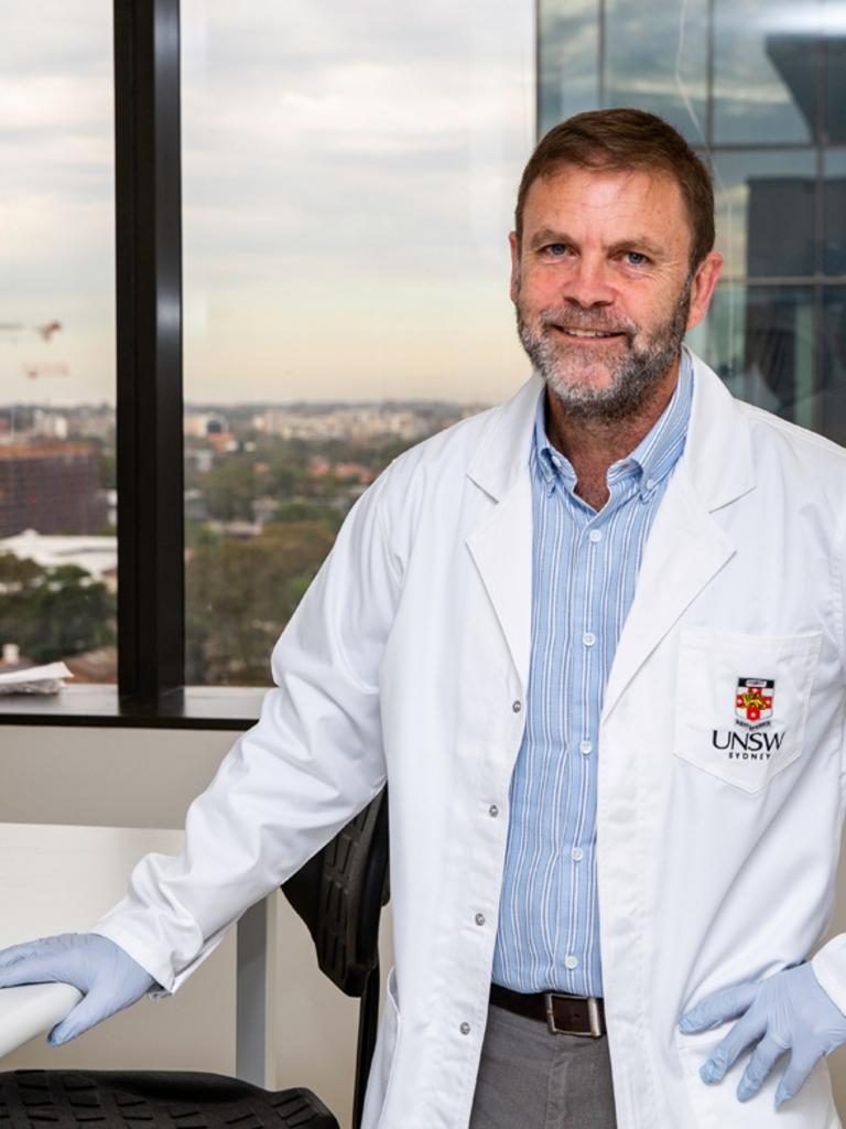 Professor Anthony Kelleher, director of the Kirby Institute.