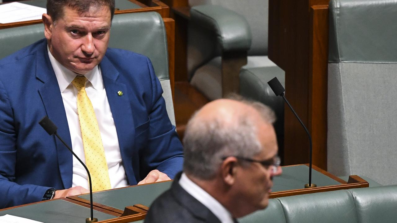 Wide Bay MP Llew O'Brien has expressed a distrust for the plan that would encroach on the privacy of Australians but help authorities trace new cases of coronavirus. (AAP Image/Lukas Coch) NO ARCHIVING