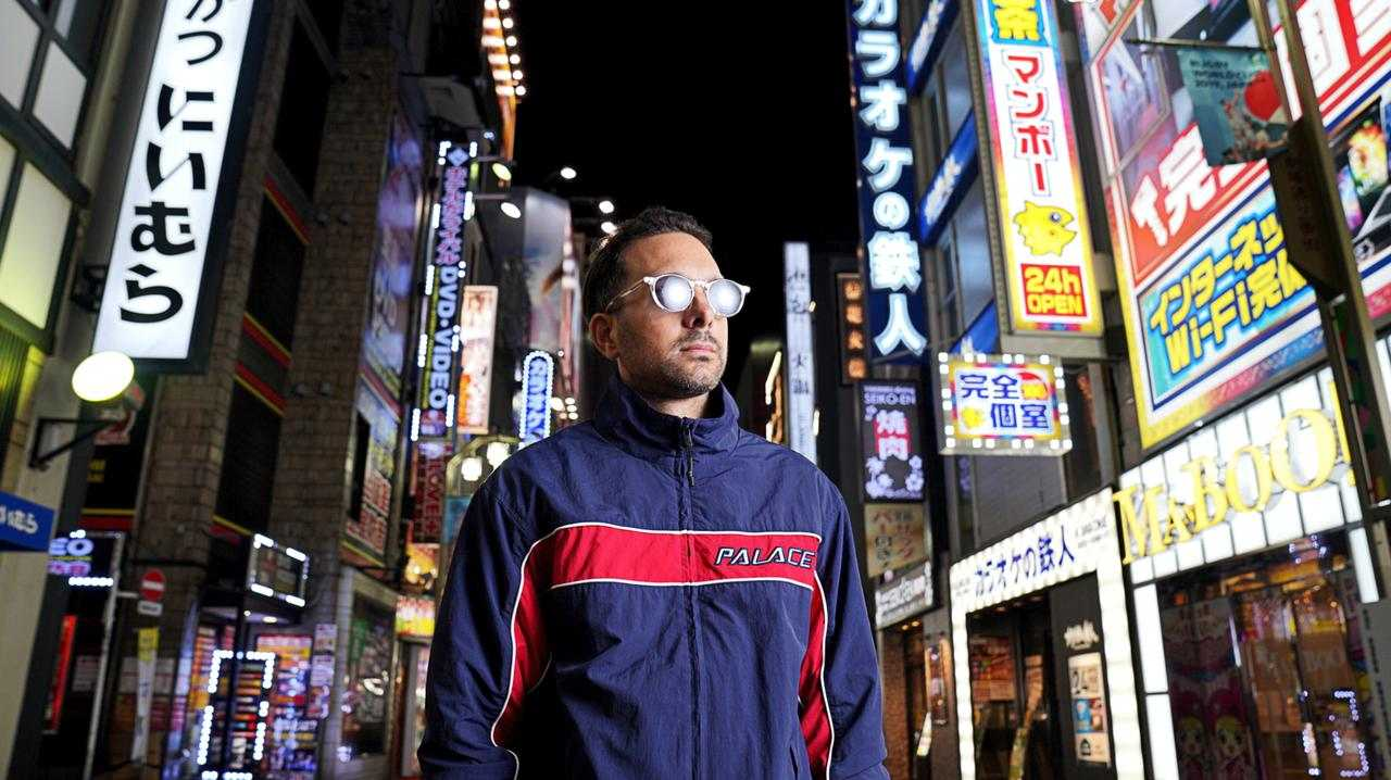 UK magician Dynamo in Japan in a scene from his new TV special Beyond Belief, which chronicles his battle with Crohn's disease.