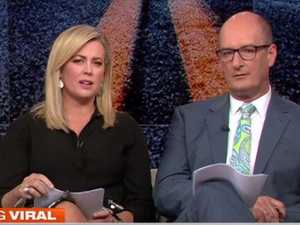 Sam Armytage back behind the Sunrise desk