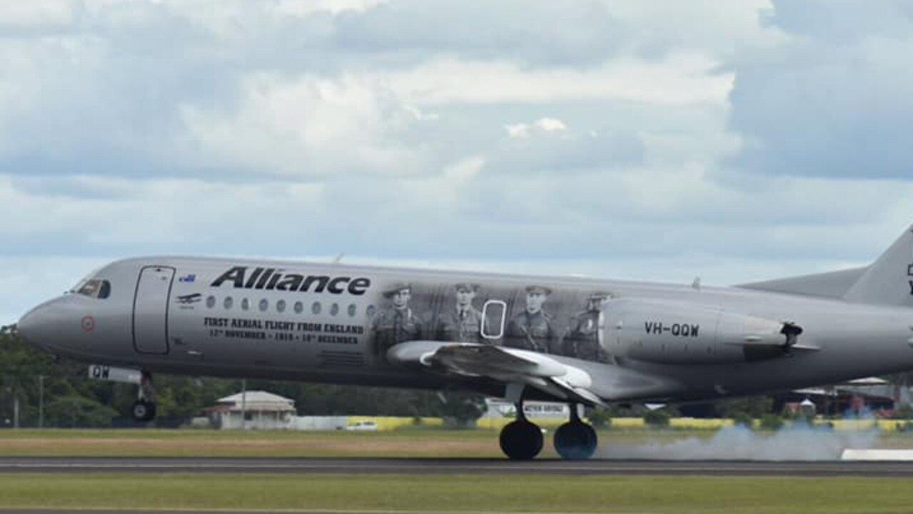 Alliance Airlines have committed to providing regular flights between Bundaberg and Brisbane. Photo: Dan Beck
