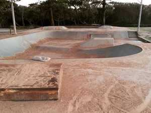 Sandy solution to deter Coast's skaters