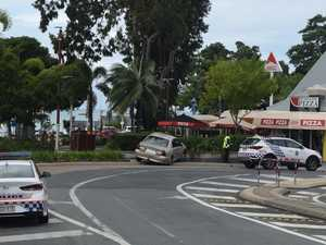 Two vehicle crash in Airlie Beach