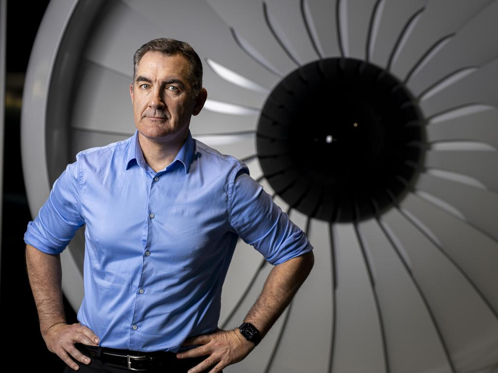 Virgin Australia managing director Paul Scurrah.
