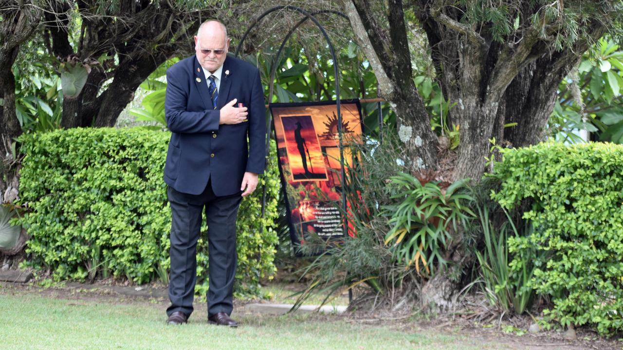 Casino RSL sub branch secretary Owen Newell will stand at his front gate for the Anzac Day dawn service. PIC: SUSANNA FREYMARK