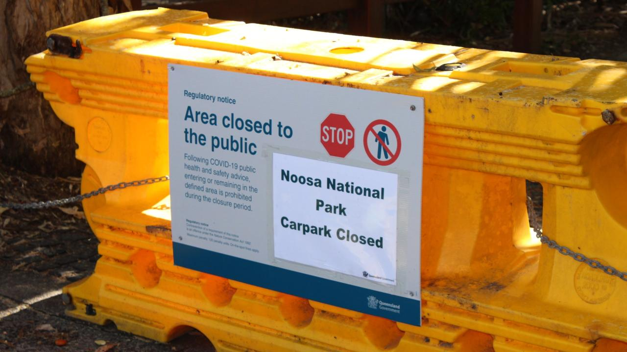 Parking at Noosa National Park is closed.