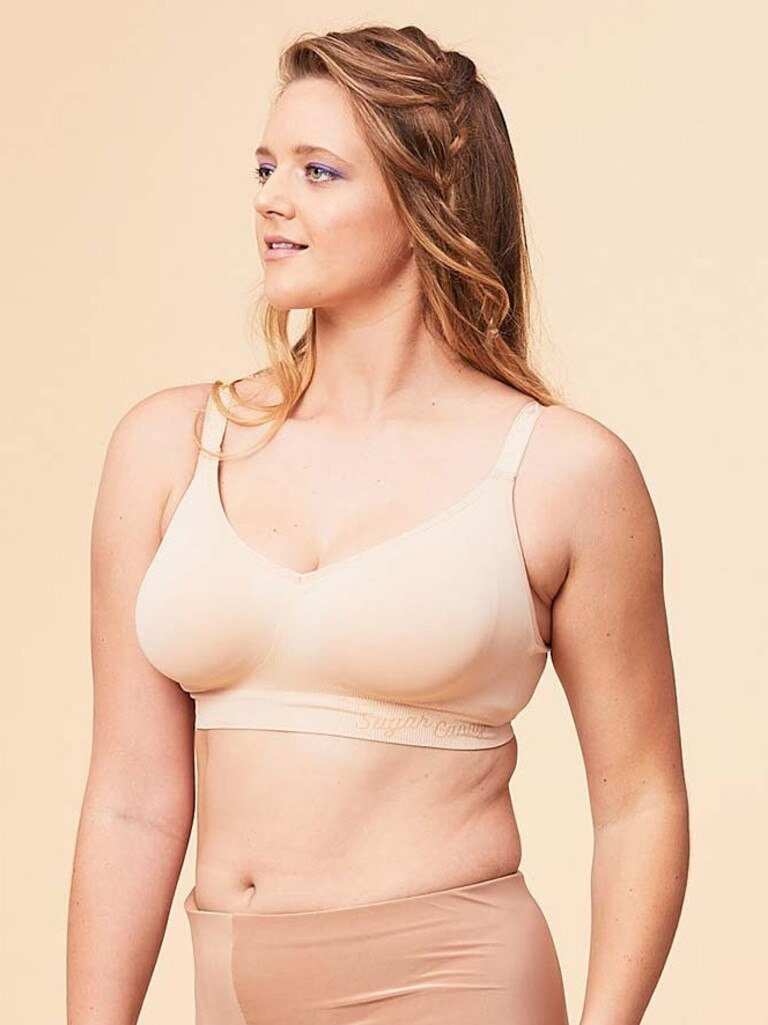 "Curvy has noticed a trend towards ""home/lounge bras"". Picture: Supplied"