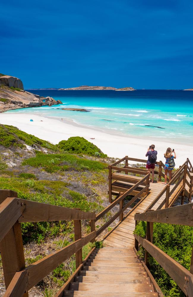 Esperance is one of 76 local government areas in Western Australia reporting no coronavirus cases. Picture: Mark Fitz