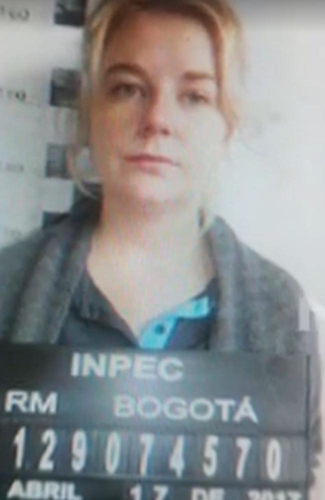 Cassandra Sainsbury's mug shot . Picture: 7 News