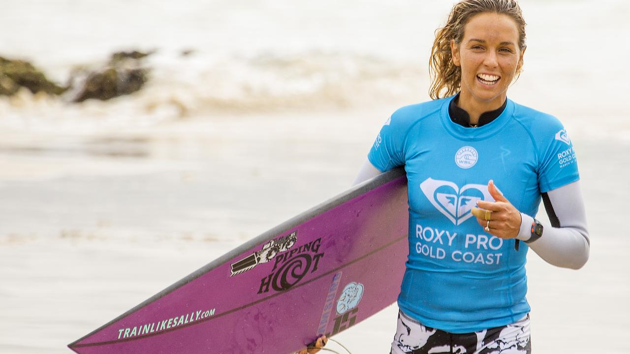 Sally Fitzgibbons has endured more heartbreak than any athlete should, and it's taken a heavy toll on the Aussie surfing star.