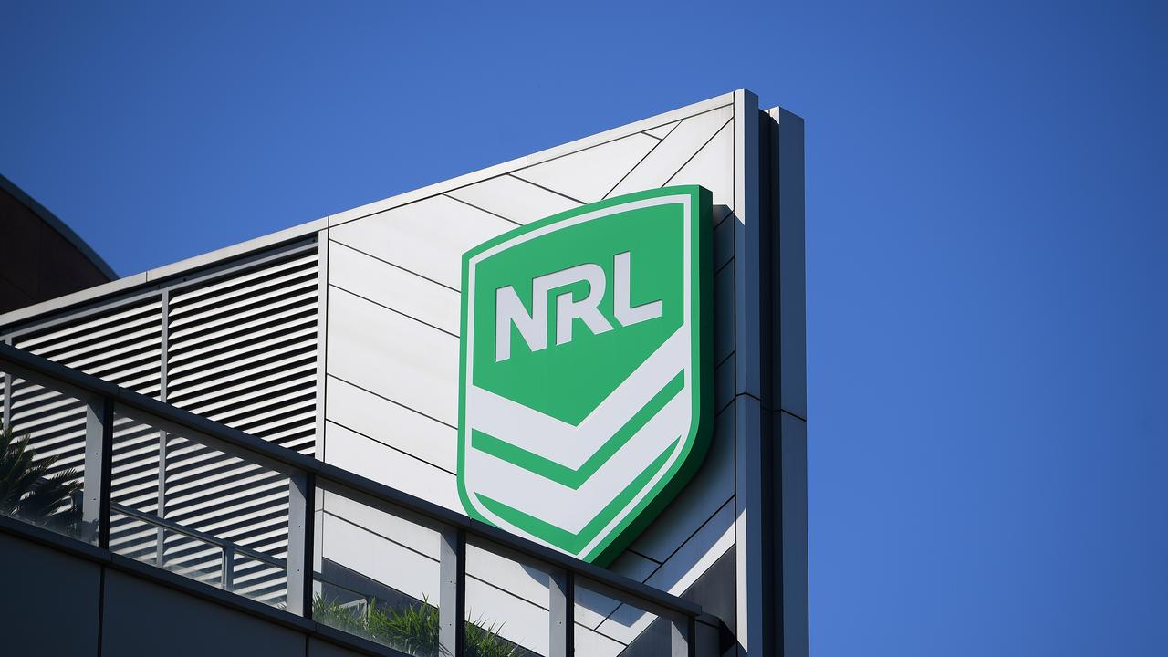 A general view of NRL headquarters in Sydney, Tuesday, April 14, 2020. Prime Minister Scott Morrison says the NRL won't be given any