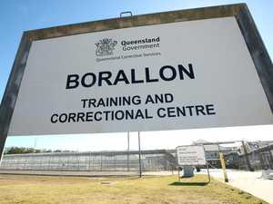 Hot jam poured on inmate's genitals