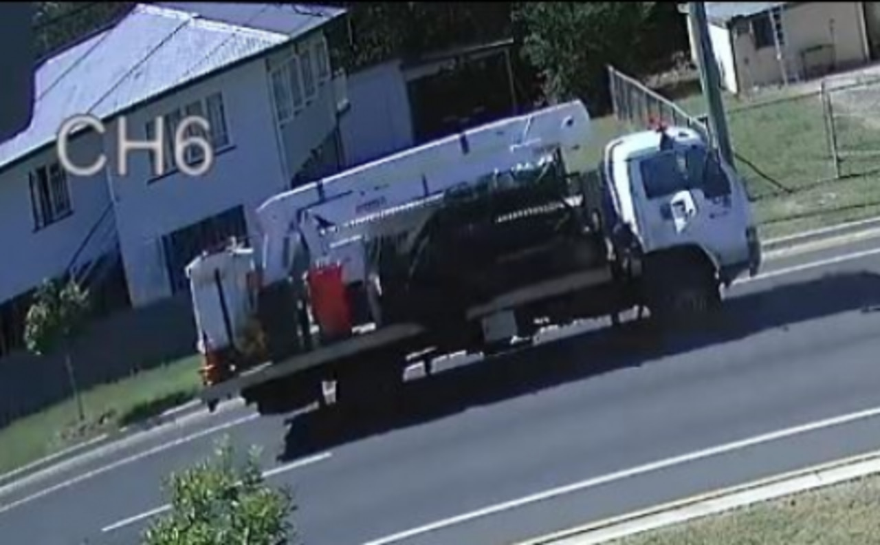 Ipswich Police investigating a collision between a truck and motorcycle at East Ipswich on Thursday, April 16 in which a woman sustained serious head injuries, are appealing for witnesses.