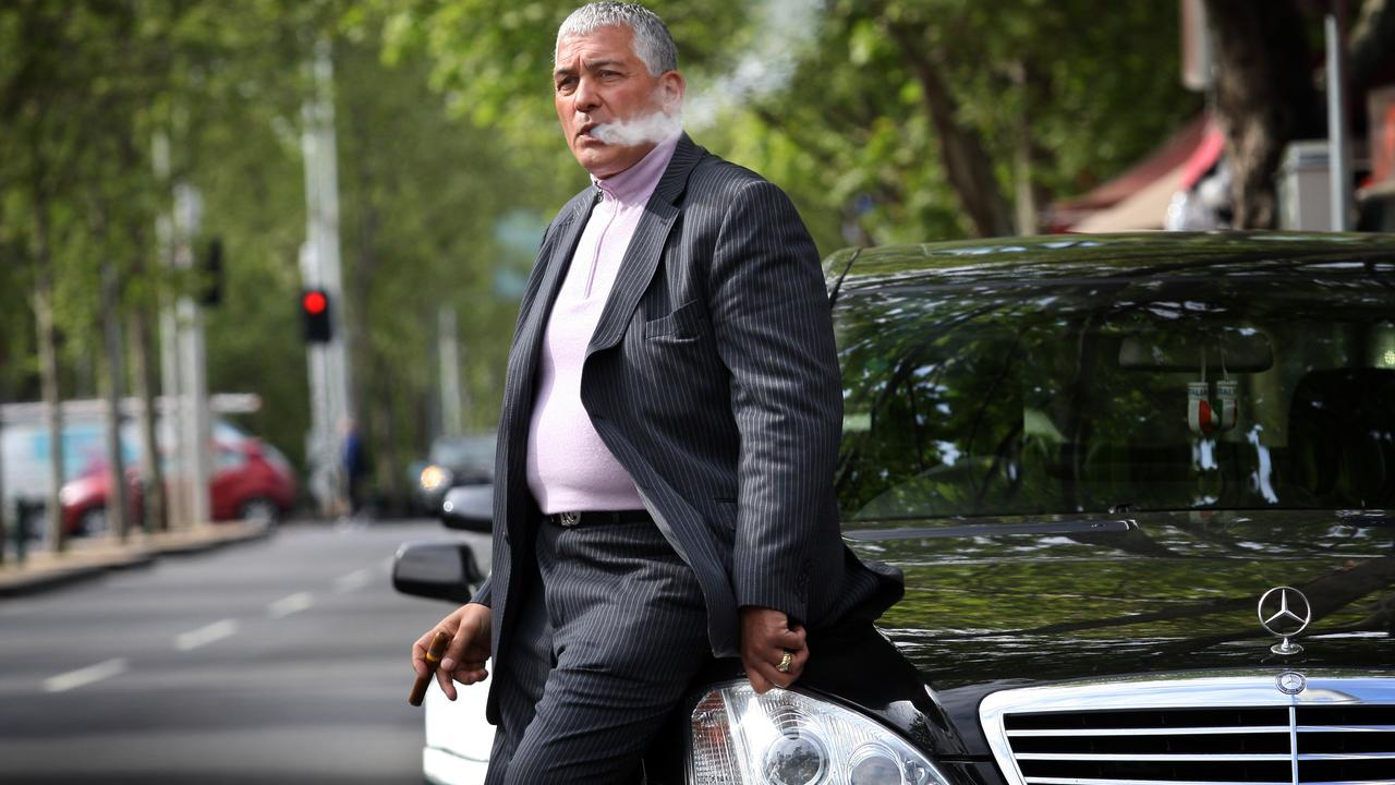 Mick Gatto in Carlton.