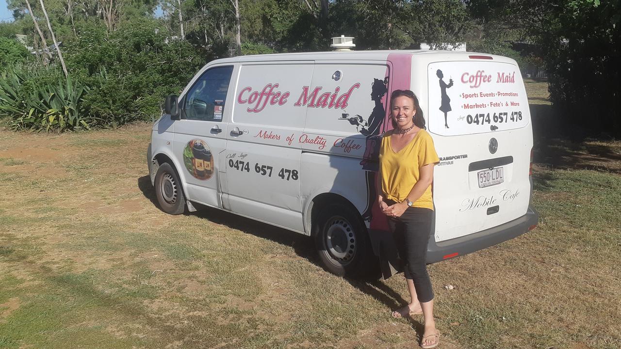 Jaye Tonkin supplying the region with coffee