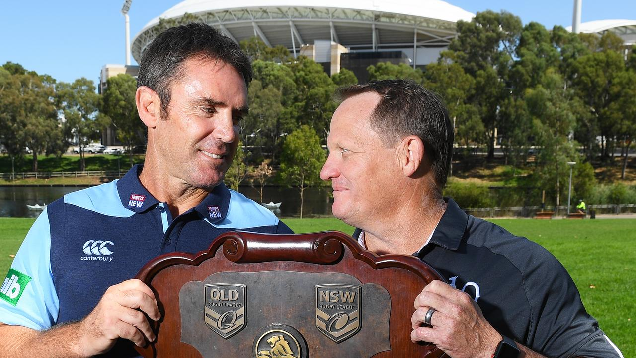 The Origin coaches are ready to rumble.​