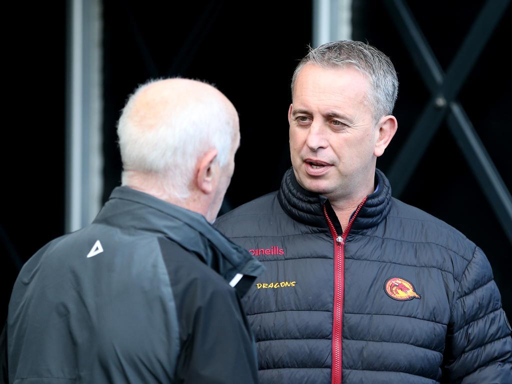 Catalans Dragons coach Steve McNamara