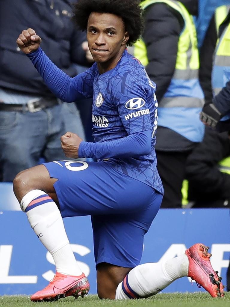 Chelsea's Willian has voiced concerns over resuming playing even in empty stadiums.
