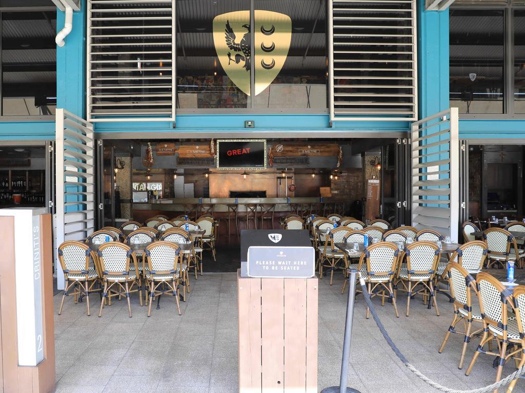 Criniti's restaurant in Woolloomooloo. Picture: Christian Gilles