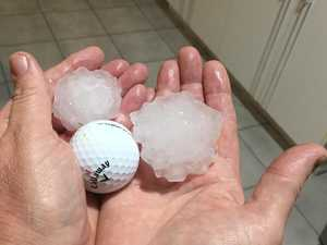 Softball-sized hail hits Rocky area, injuries reported