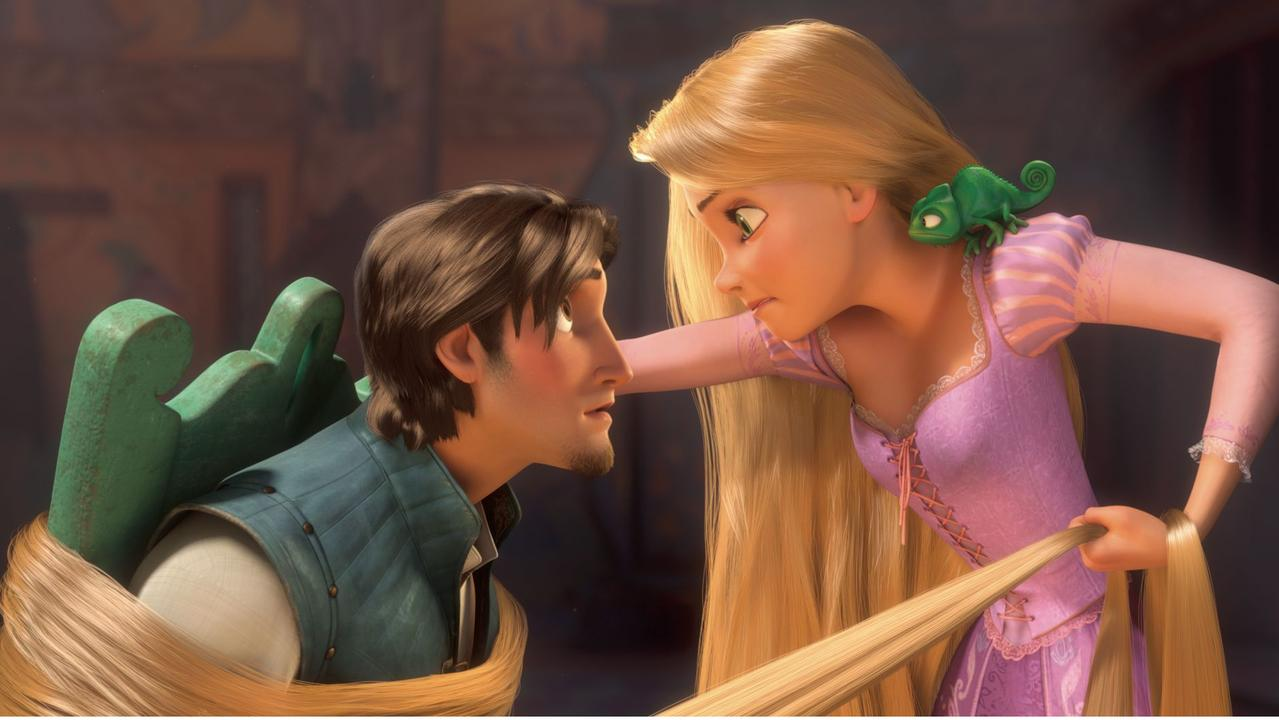 Disney's Tangled is the latest film to be embroiled in coronavirus conspiracy theories.